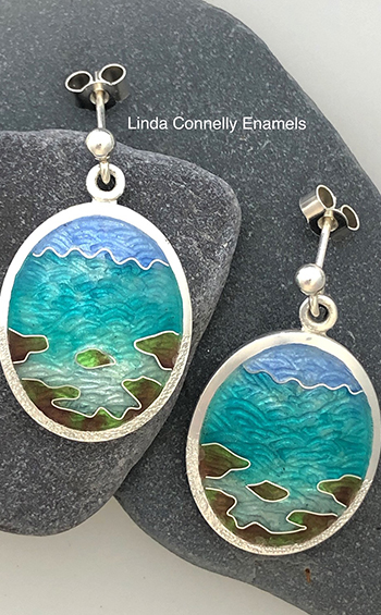 Linda Connelly, Enamel Artist and Jeweller