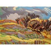 Printmaking - Rosie Montford - landscape