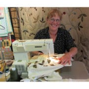 Textiles - Louise Bell - quilt demo