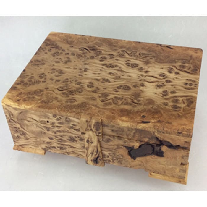 Wood - Andrew Poder - burr oak jewellery box
