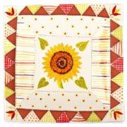 Ceramics - Kate Hackett - Flower tile