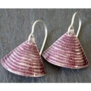 Jewellery - Anna Clark - silver enamel earrings