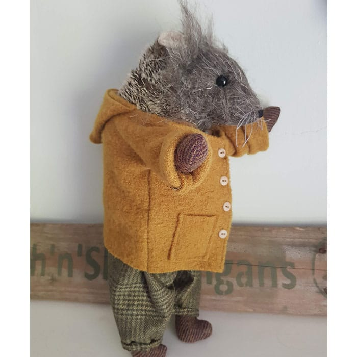 Textiles - Sarah Dudley - Godfry Hedgehog