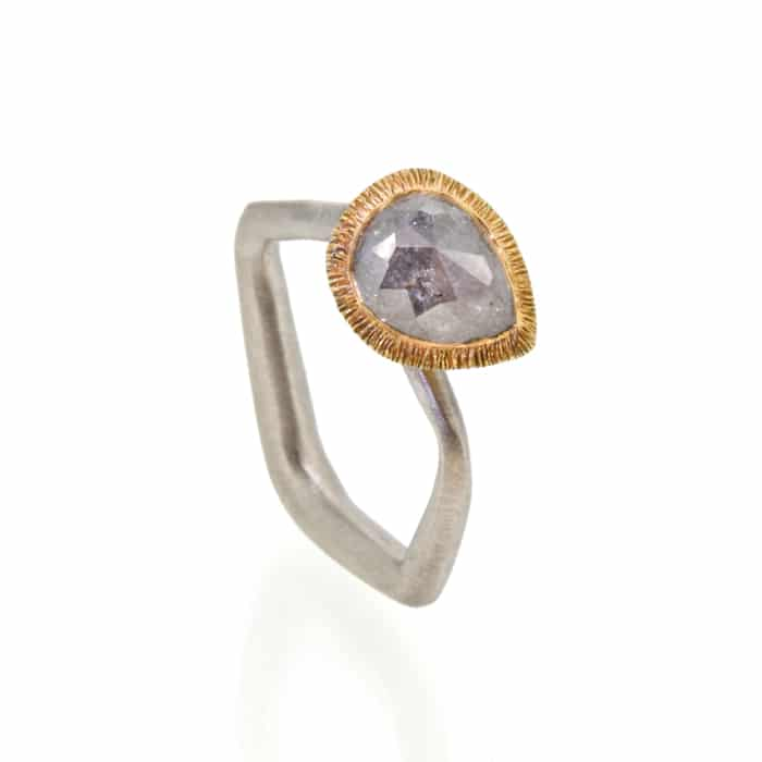 Jewellery_Emily_Thatcher_Grey Rose Cut Diamond Ring