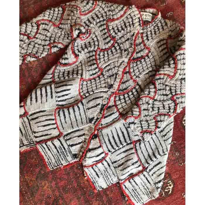 textiles - Alison Ellen - ikatstripe