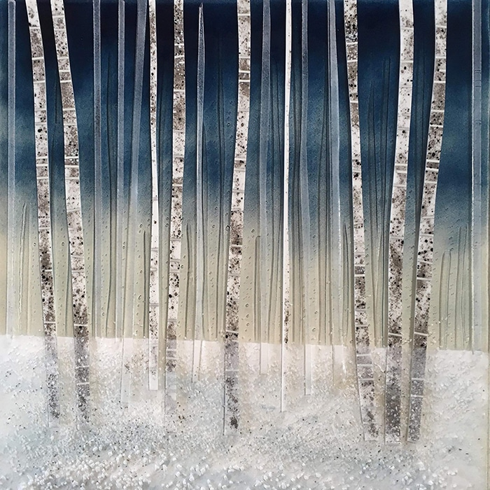 Glass - Sue Tinkler - Snow forest