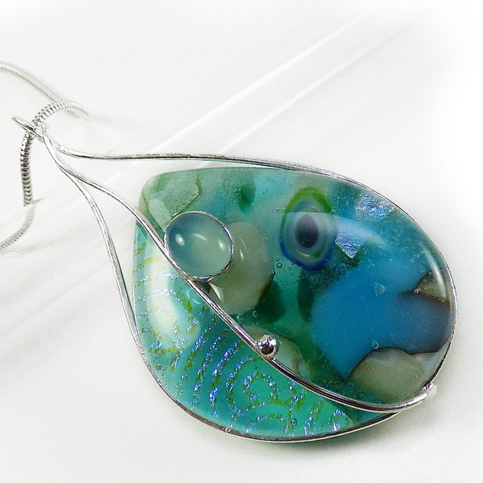 Jewellery Jo Perason Aqua clouds