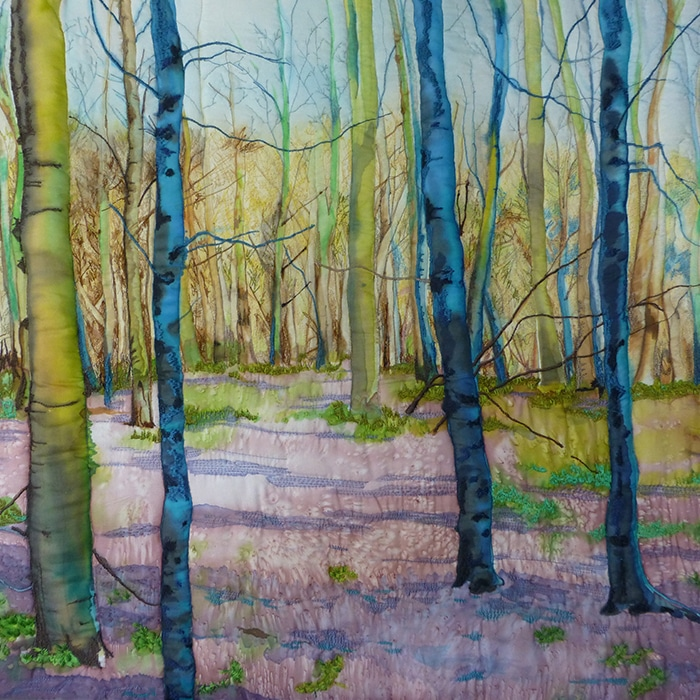 Textile - Diane Rogers - Woodland Trail