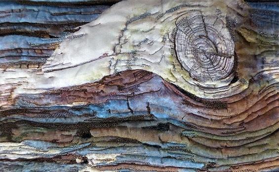 Textiles - Diane Rogers - Wave Bark