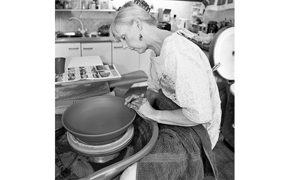 From first pinch pot to the Sussex Guild - Kate Hackett