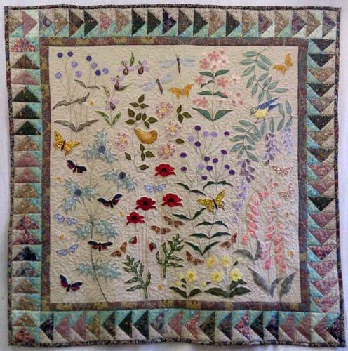 Textiles-Louise-Bell-Wild-Flower-quilt