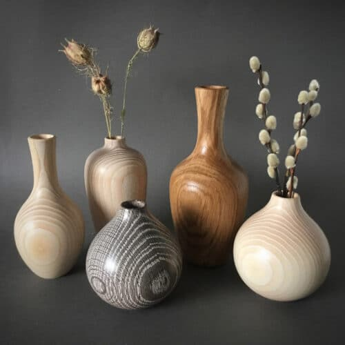 Wood-Anna-Cates-turned-vases-collection