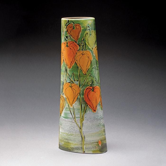 Ceramics-Lisa-Katzenstein-Autumn-Themed-Vase