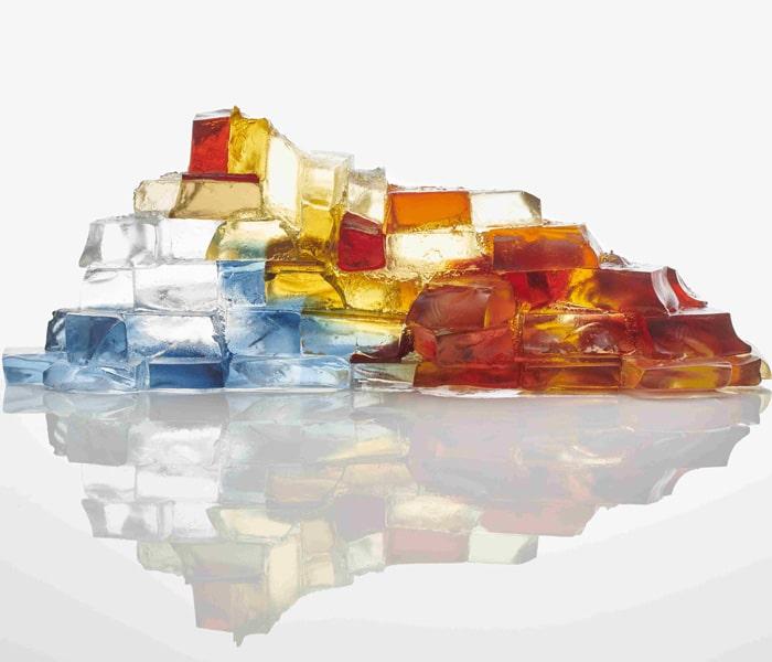 Glass-Deborah-Timperley-Bridge-over-water-reds