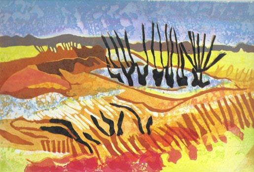 Printmaking-Rosie-Montford-Submerged-Trees