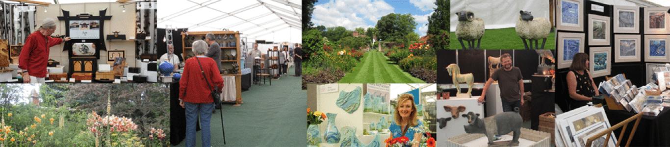Pashley Manor Gardens Contemporary Craft Show